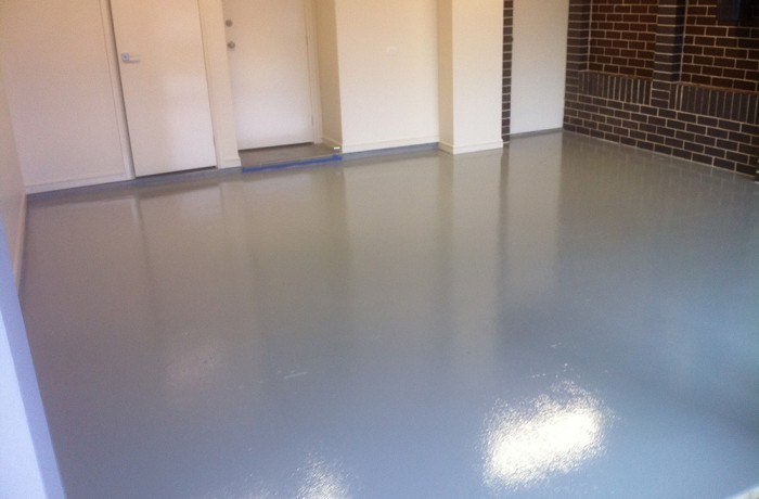 Hygienically Painted Floors